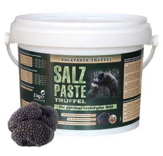Salzpaste mit Trüffelaroma 2,5 kg Eimer / TOP - EFFEKT AN DER SALZLECKE UND  KIRRUNG Art.Nr. HU- 94002