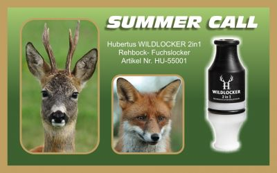 WILDLOCKER  HUBERTUS  2 in1  Reh und Fuchslocker  Art. Nr. HU-55001